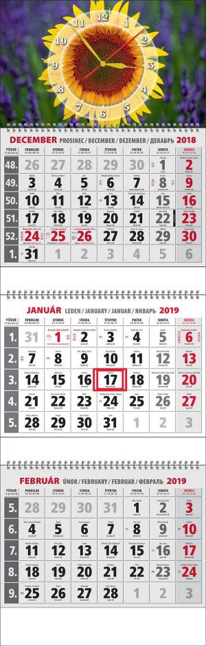 Plánovací nástenný kalendár 2019